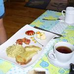 le plat principal du petit-déjeuner