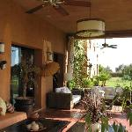terrasse africaine