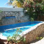 pool- small but pretty