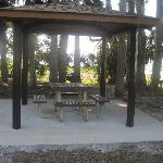 Small covered pavillion