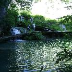 Plitivice lakes- going into a cave