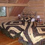 Blue Damsel Lodge Bedroom