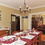 Guest Dining Room and Breakfast Setting