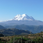 """Antisana - view from the area of """"La Virgen"""""""