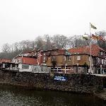 Schifferhaus vom Kai aus