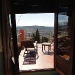 habitación con terracita