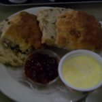 Scones, jam and clotted cream