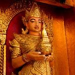 Temple figure at Kyauktan