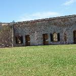 View of the inside of the fort