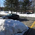 Snow and ice in March