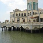 ~ floating mosque