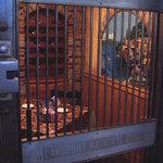 Taken through the vault door