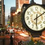 Look for our signature clock on Fifth Avenue and 59th Street