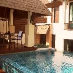 Pool villa avec piscine privée