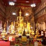 Visite du temple Boudhiste