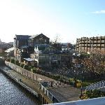 Our beautiful riverside location