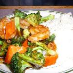 Lunch Shrimp & Broccoli at Ming Kitchen