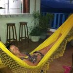 quality time in one of the hammocks