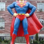 Giant Superman Statue