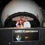 My family with Frank Kovac