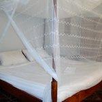 my room at thakhek travel lodge