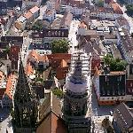 View of Strasbourg from the Cathedrale 4