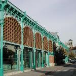 Halles du marché à Châlons-en-Champagne