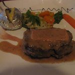 filet mignon with foie gras