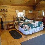 Little House on the Prairie-Grapevine Log Cabins B&B