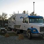 Redding Premier RV Resort - our end space in new section