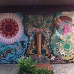 Hortense Miller Mural Wall