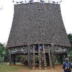 The spectacular Bahnar communal house