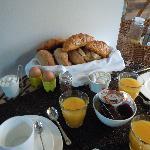 Un très bon petit déjeuner, pour une très bonne journée