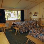 Western Cabin Interior