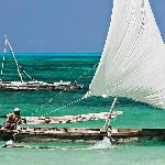 Go out snorkeling on a dhow - a design that hasn't changed for centuries.