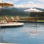 Pool with views of the Continental Divide.