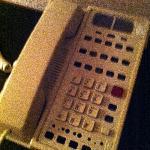 The room phone