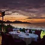 Sunset Dinner at Uncle Zack's Restaurant