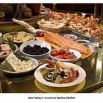 Deer Valley's renowned Seafood Buffet - Courtesy of Deer Valley Resort, the owner