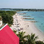 Une belle vue de la plage