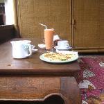 Breakfast area at Ratna 1