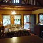 Charming Sugar Pine Cabin - another view from kitchen