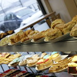 A selection of the home baking on offer