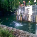 Cliff Jumping 30 min away