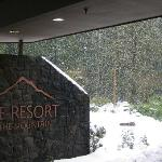 View of front of the resort