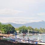 Vue sur la baie de Lovina