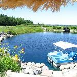 Recreational pond with boats, Kayaks and Swimming on site!