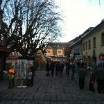 Town square in Schladming.