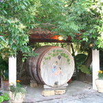 Winebarrel at Kostas'brothers tavern-A.Proctor