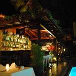 Pool side bar/restaurant